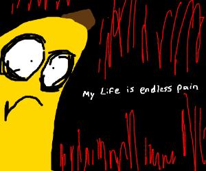 Banana of dark despair