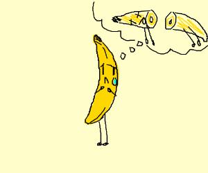 banana's life is endless pain