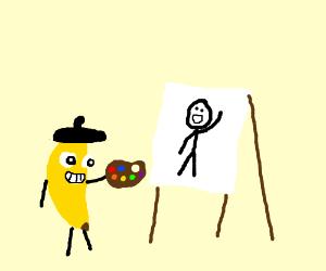 fkin banana is artist