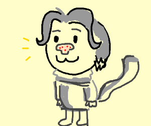 temmie with strange nose