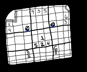 Sad Sudoku