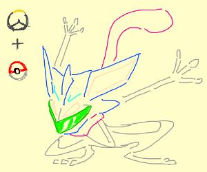 Genji Greninja (Overwatch/pokemon)