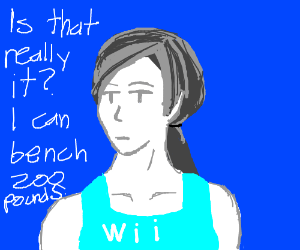 Fitness with Wii Fit Trainer