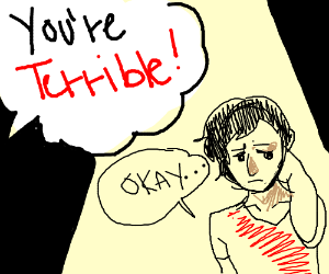"Terrible web comic guy says ""okay"""
