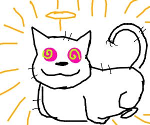 All hail the Hypno-cat