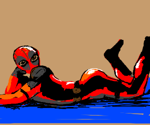 sexy deadpool