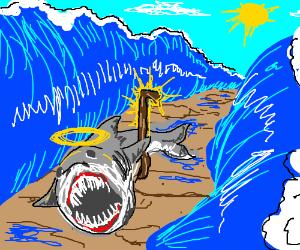 Holy shark