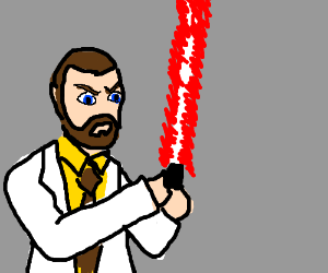 Krieger is a Sith Lord