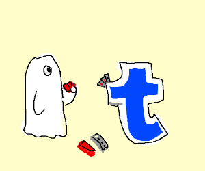 Ghost and Tumblr agree to card games.