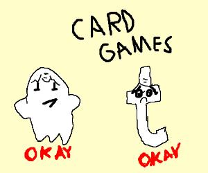 Tumblr and Snapchat okay card games