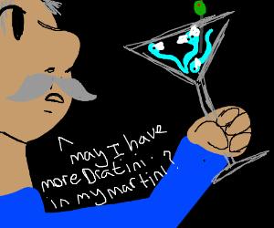 guy asks for more dratini in his martini
