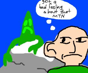 mountain approacing mountains despite warning