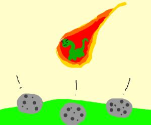Meteorites Gone Extinct Because Of Dinosaurs