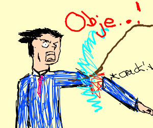 Anyone But Phoenix Wright Doing The Objection Drawception