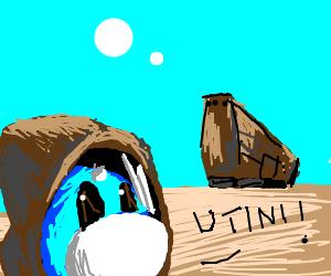 "Jawa Dratini says ""Utini!"""