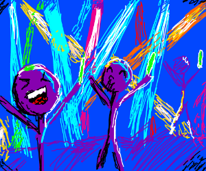 Stick Figure Rave Party WHOO!