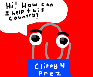 Clippy for President!