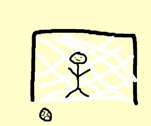 Soccer defender