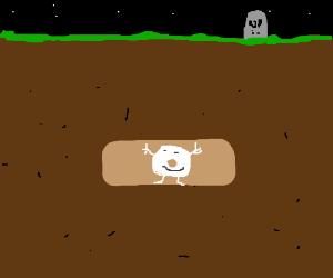 Breathmint dances in his grave