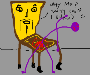 Chair has existential crisis