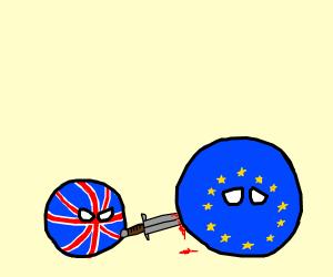 UK Doesn't Leave EU... It Literally Kills It
