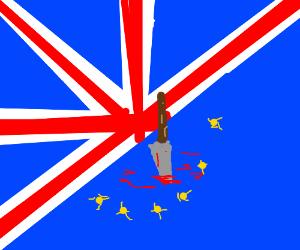 UK stabbed EU