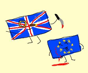 England backstabbed the EU