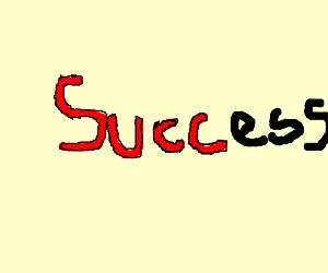 """You can't spell success without """"succ"""""""
