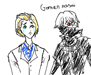"Kaneki is sorry for killing Naki's ""bro"""