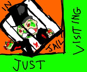 Zombie Monopoly Guy