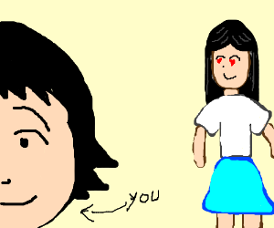 Girl has a crush on you