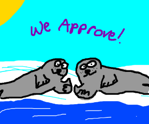 You recieve 2 SEALS OF APPROVAL