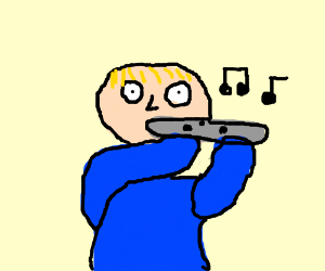 A flute musician
