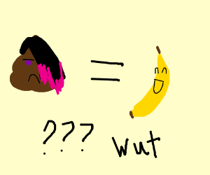 emo poop is a funny banana