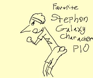 Favorite STEPHON GALAXY character PIO