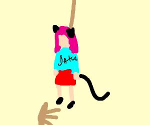 Stupid Weeb Girl Hangs Herself