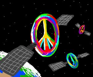 Peace satellites