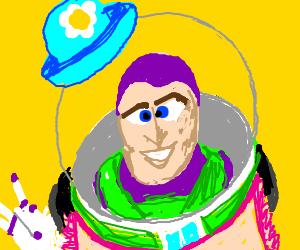 "Buzz says ""I am Mrs. Nesbit!"""