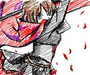 An anime girl called ruby