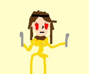 Princess Mononoke was in fact a Kadabra