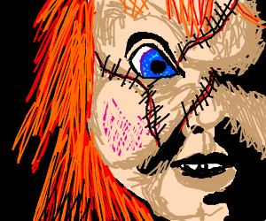 Scarred Red Head