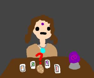 Is that potato a tarot card?
