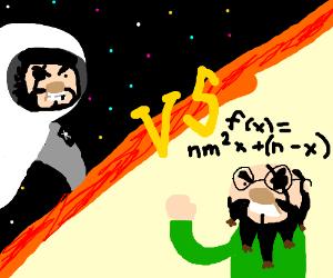 Astronaut pirate vs math pirate