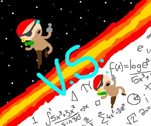 space pirate vs math pirate