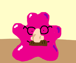 Ditto with a mustache