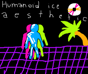 The aesthetics of humanoid ice a grid
