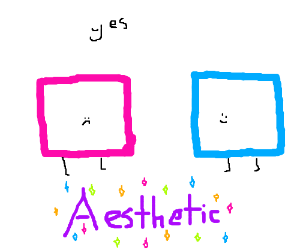 Are pink and blue box people your aesthetic?