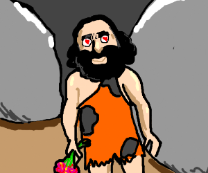 Caveman is in love