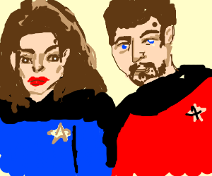 Troi and Riker (Star Trek)