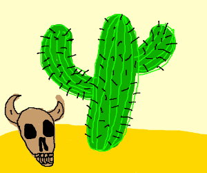 Just a boring, 'ol cactus. Nothing special.